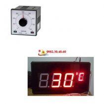 Đồng hồ hiển thị điều khiển nhiệt độ cỏ – điện tử